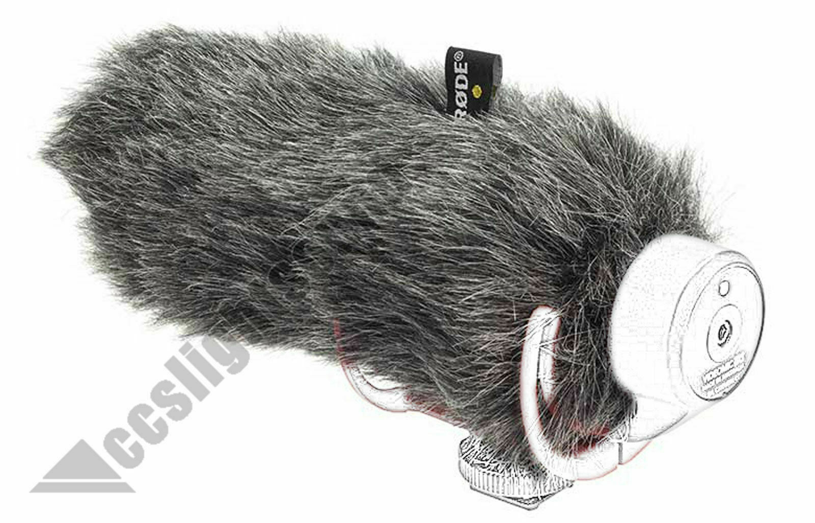"""RODE VIDEOMIC GO  LIGHTWEIGHT ONCAMERA MICROPHONE WITH DEADCAT  BUNDLE """