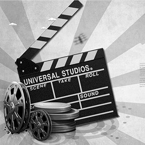 Black Clapper board Hollywood Movie TV Clapper Board Universal Studios Prop