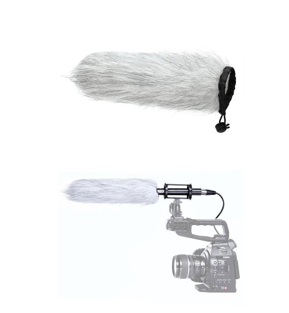 BOYA BY B04 Fur Windscreen for PVM1000L Microphone