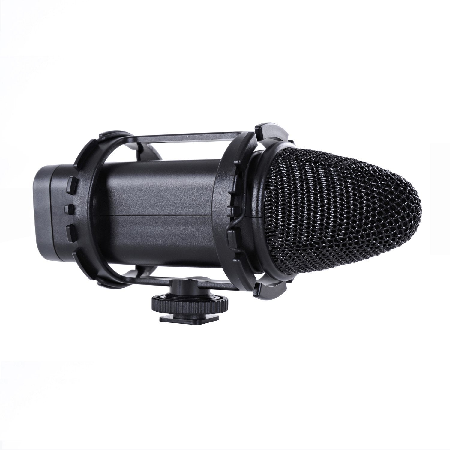 "BOYA BY-C03 Camera Shoe Shockmount for Shotgun Microphones 1"" to 2"" in Diameter (Fits the Zoom H1)"