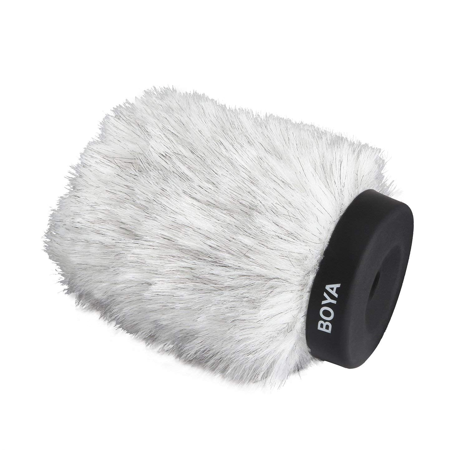 BOYA BY-P120 Furry Outdoor Interview Windshield Muff for Shotgun Capacitor Microphones (Inside Depth 4.8'')