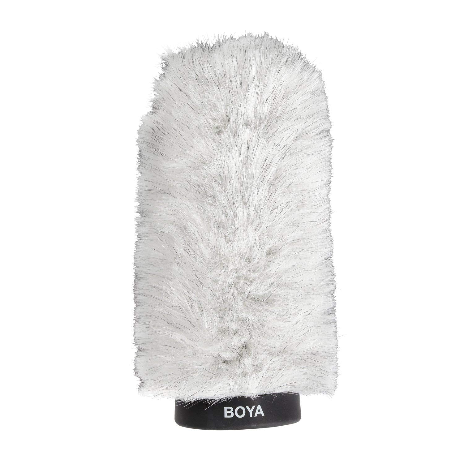 BOYA BY-P180 Furry Outdoor Interview Windshield Muff for Shotgun Capacitor Microphones (Inside Depth 7.2)