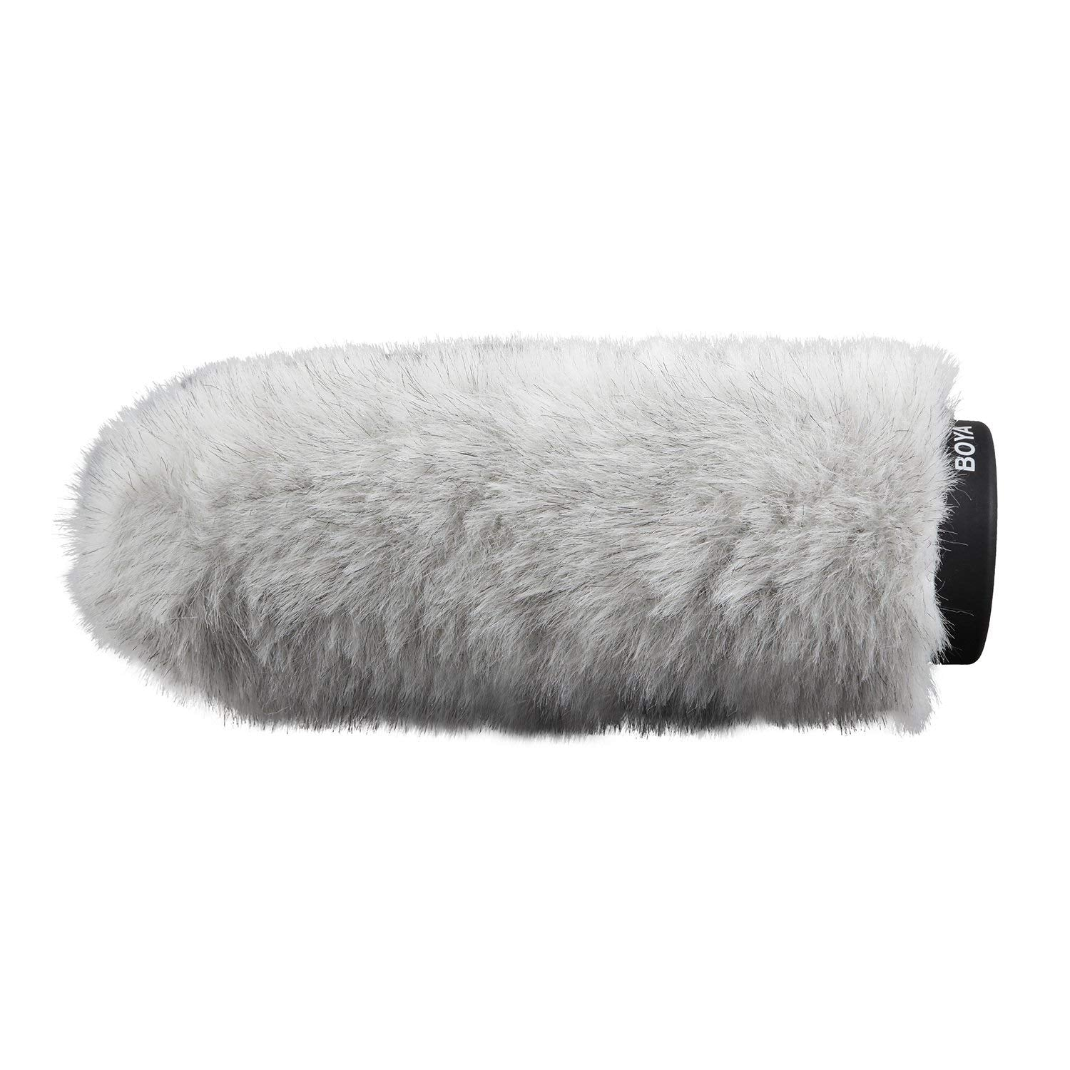 BOYA BY-P220 Furry Outdoor Interview Windshield Muff for Shotgun Capacitor Microphones (Inside Depth 8.8)