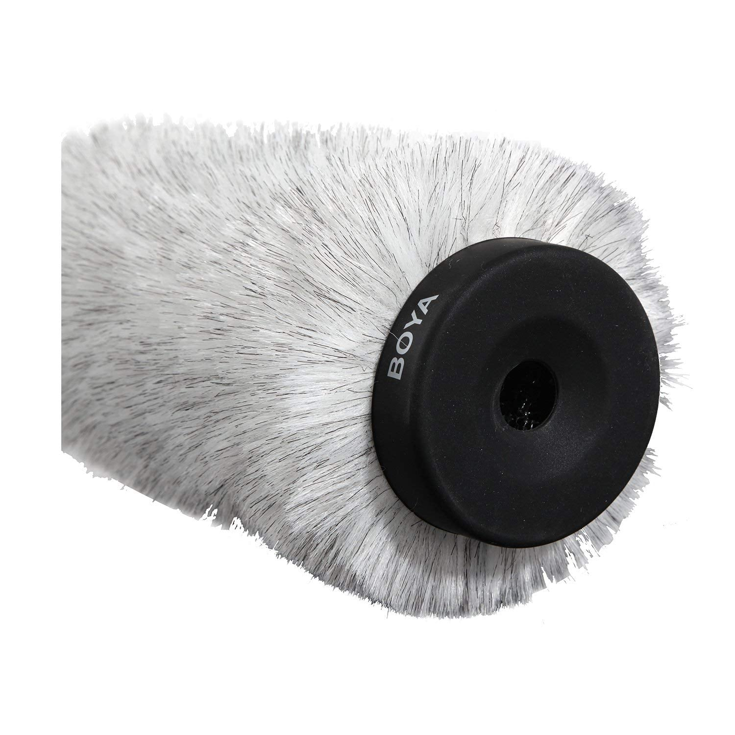 BOYA BY-P240 Furry Outdoor Interview Windshield Muff for Shotgun Capacitor Microphones (Inside Depth 9.6)