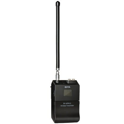 BOYA BY-WFM12 VHF Wireless Microphone System for Smartphones, DSLRs, Camcorders, Audio recorders, PCs and More