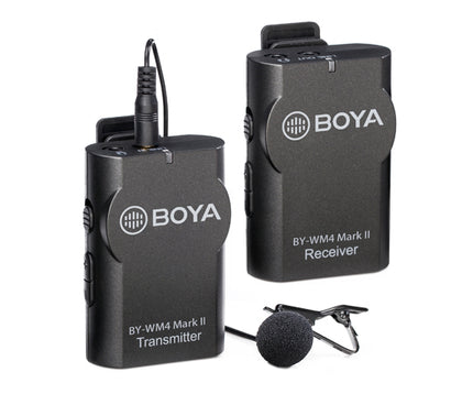 BOYA BY-WM4 Mark II wireless microphone system