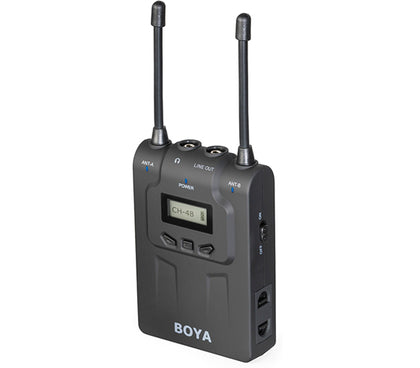 BOYA BY-WM8R Dual-Channel Wireless Bodypack Receiver