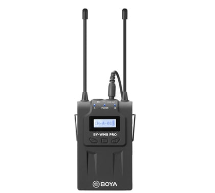BOYA RX8 Pro Dual-Channel Wireless Bodypack Receiver