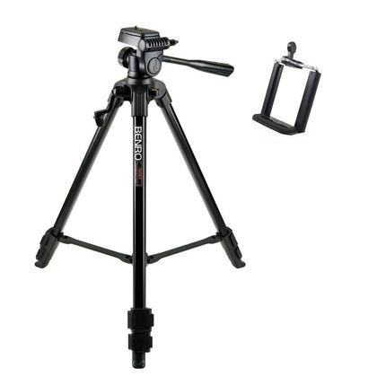 Benro T600EX with Smartphone mount1 Digital Tripod Kit