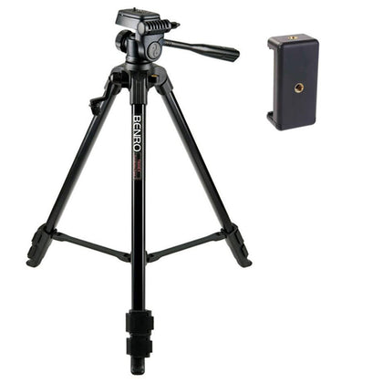 Benro T600EX with Smartphone mount2 Digital Tripod Kit