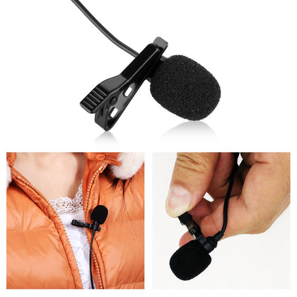 Boya BY-40D Omni-directional and Condenser Lavalier Microphone Windscreen with XLR Cable and Lapel Clip Compatible with DSLR cameras Camcorders Audio Recorder etc.