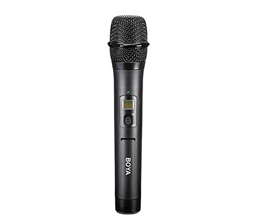 Boya BY-WHM8 UHF Wireless Handheld Transmitter Compatible with BY-WM6 and BY-WM8 receiver for Interview Presentation Talk Show Speech