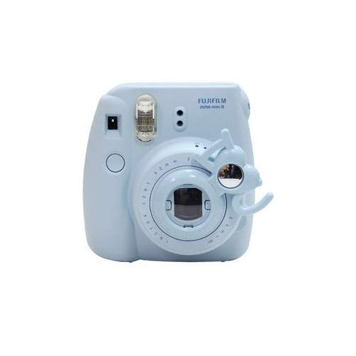 [Fujifilm Instax Mini 7s Mini 8 Selfie Lens]  CAIUL IOU Style Instax Close Up Lens with Selfportrait Mirror For Fujifilm Instax Mini 8 mini 7s Camera (Blue)