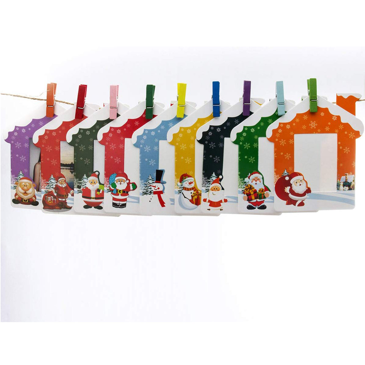 """CAIUL Instax Mini Colorful Frame for Fujifilm Mini 8 8+ 9 70 7s 90 25 26 50s Film, 10 Pcs (Rabbit)  """