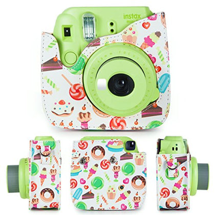 Caiul Pu Leather Fujifilm Instax Square (Dessert Series)' Camera Bag