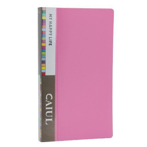 CAIUL 72 Pockets  Album for  Instax Mini 7s 8 8+ 9 25 26 50s 70 90 Film, Polaroid PIC300 Z2300 Film (Pink)