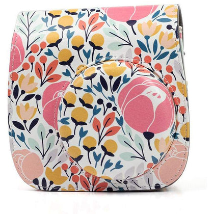 Caiul Pu Leather Fujifilm Instax Mini 9 (Colorful forest) Camera Bag
