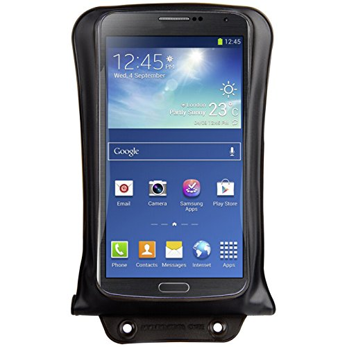 DiCAPac WPC2 Waterproof Case with Neck Strap for Samsung Galaxy Note 1/2 (Black)