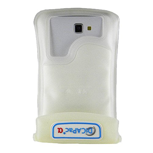 DiCAPac WPC2 Waterproof Case with Neck Strap for Samsung Galaxy Note 1/2 (White)