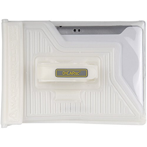 "DiCAPac WPT20 Waterproof Case for 10"" Tablets P.C White"