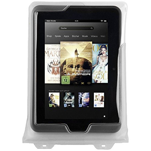 DiCAPac Waterproof Case with Neck Strap Tablet for 8Inch Samsung Galaxy Tab  White (WPT7)