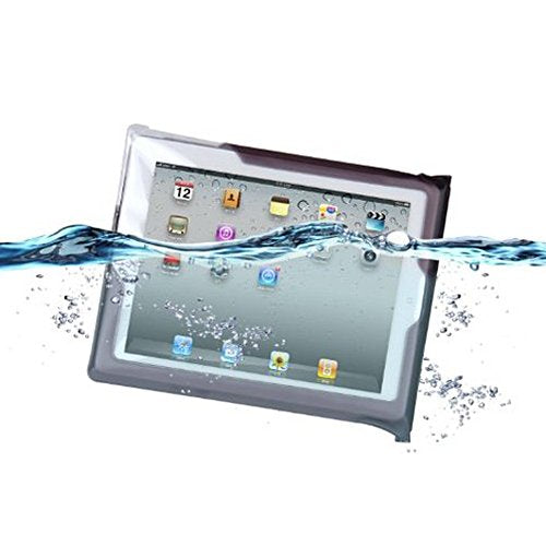 DiCAPac Waterproof Case with Neck Strap for iPad mini  Black (WPi20m)
