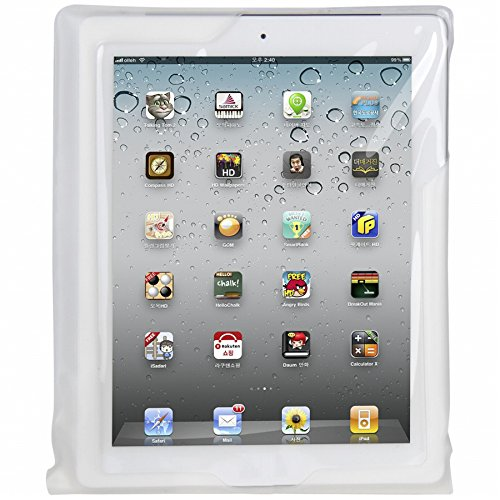 DiCAPac Waterproof Case with Neck Strap for iPad mini  White (WPi20m)