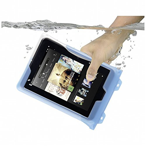 Dicapac WPT7 Waterproof Case with Neck Strap for 8inch Tablets (Blue)