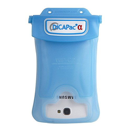 DiCAPac WPC2 Waterproof Case with Neck Strap for Samsung Galaxy Note 1/2 (Blue)