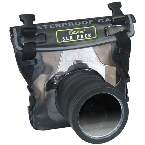 Dicapac Waterproof Case For Nikon D40, D60, D90, D3000, D300S, D5000, Underwater Hous...