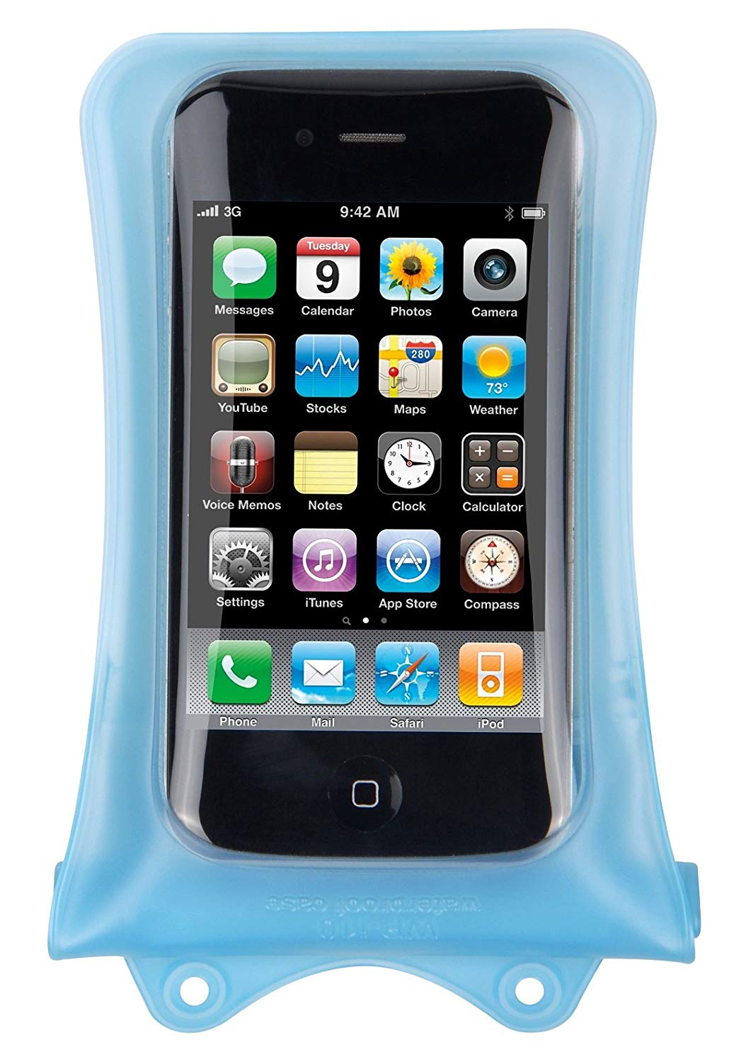 Dicapac WPi10 Waterproof Case for Apple iPhone (Sky Blue)