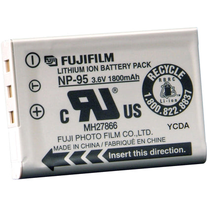 FUJIFILM NP-95 Lithium-Ion Battery Pack (3.6V, 1800mAh)