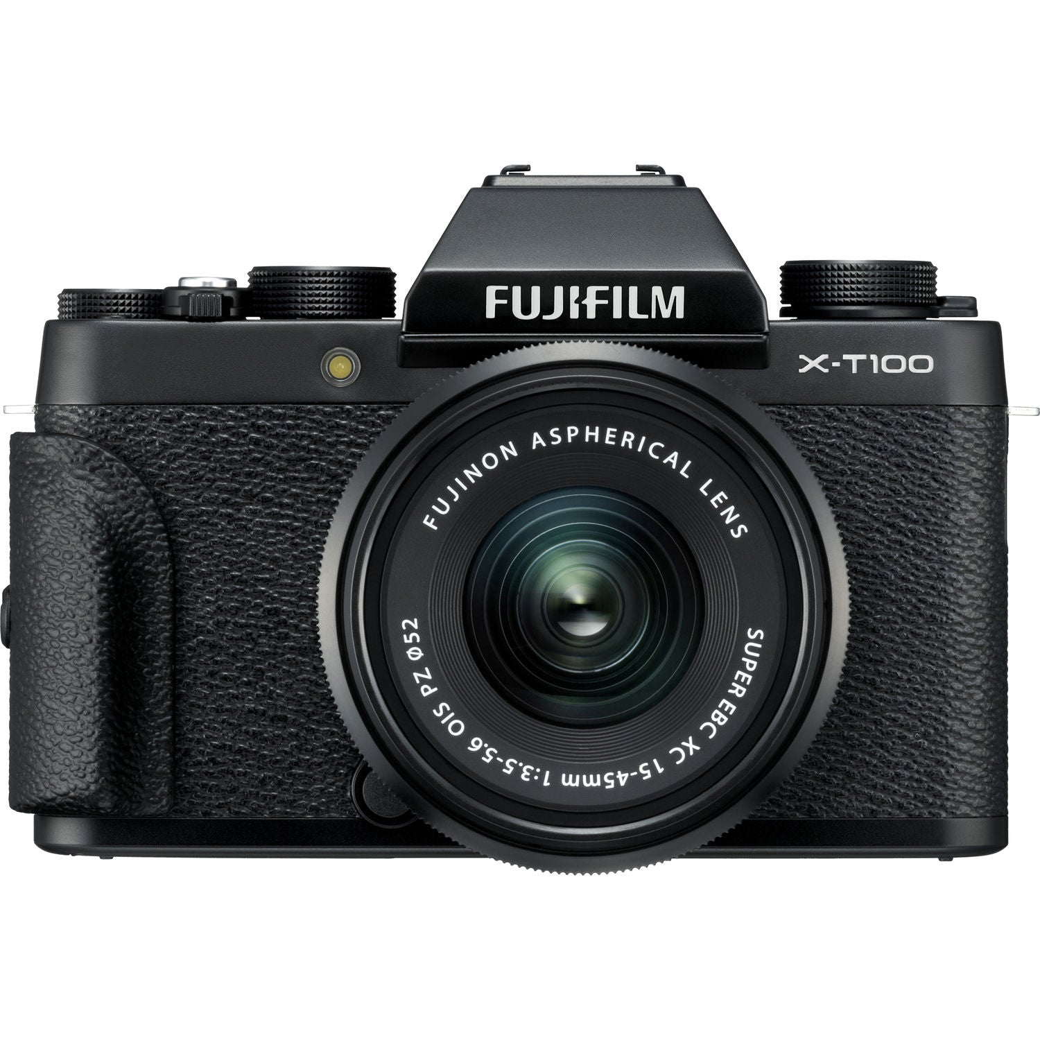 FUJIFILM X-T100 Camera with 15-45mm and 50-230mm Lens Kit (Black)