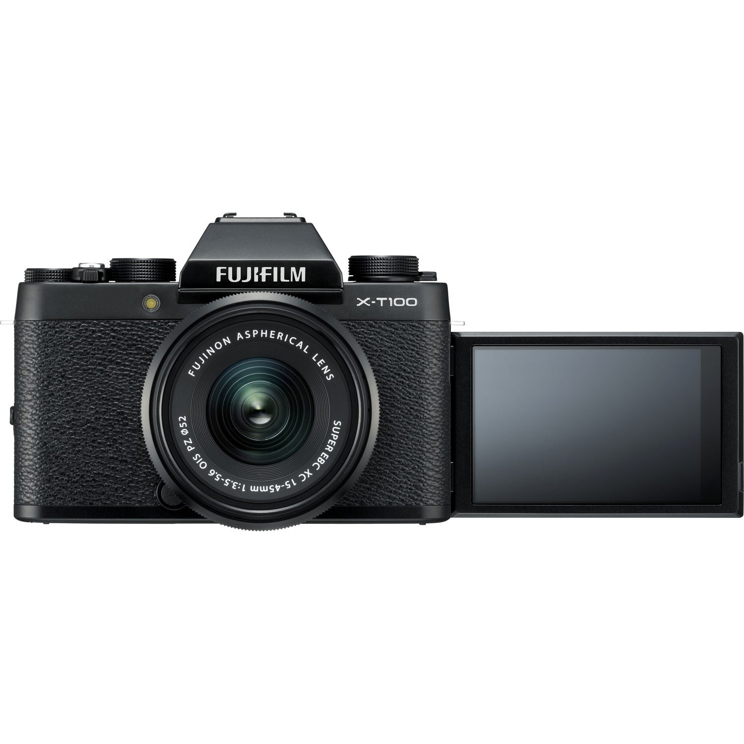 FUJIFILM X-T100 Mirrorless Digital Camera with 15-45mm Lens (Black)