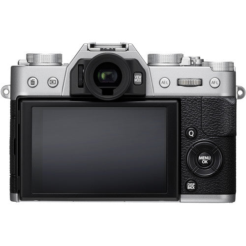 FUJIFILM X-T20 Mirrorless Digital Camera (Body Only, Silver)