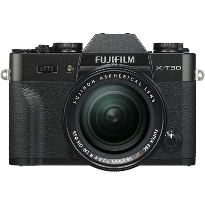 FUJIFILM X-T30 Mirrorless Digital Camera with 18-55mm Lens (Black)