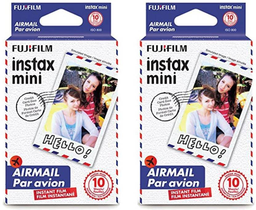 Fujifilm Instax Mini Airmail Film 2 pack ( 20 Shots)