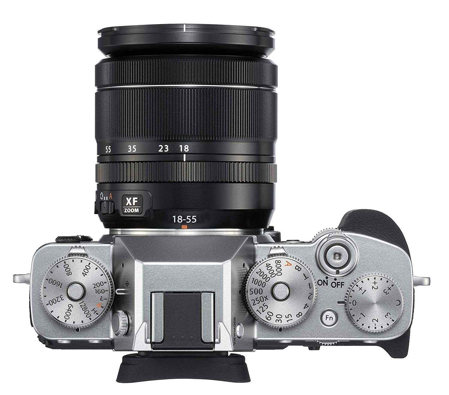 Fujifilm X-T3 Mirrorless Digital Camera w/XF18-55mm Lens Kit - Silver
