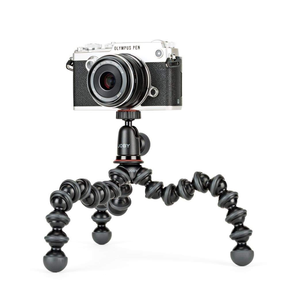 Joby Tripod 1K Stand and Ball-head for Compact Mirrorless Cameras (Black and Charcoal)