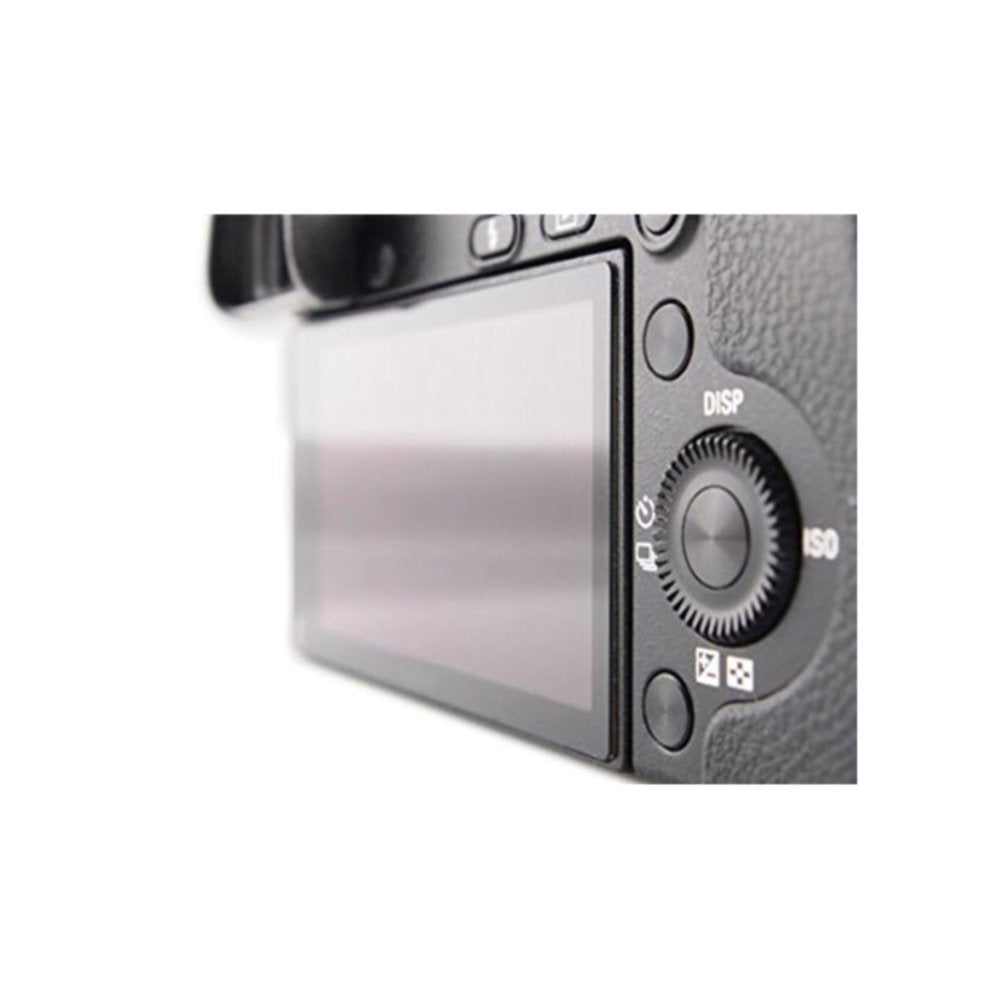 LARMOR 0.3mm Ultra Thin SelfAdhesive Optical Glass LCD Screen Protector for Sony a6000 Camera