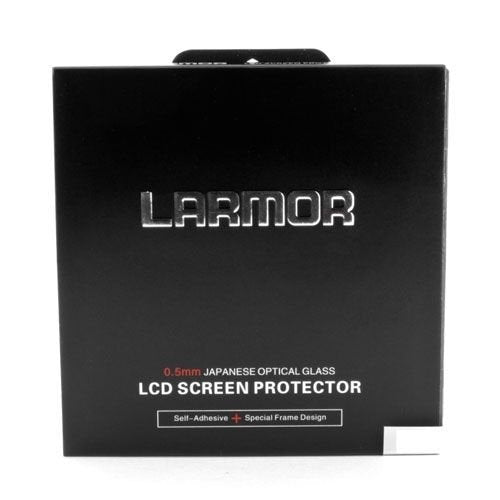 LARMOR GGS SelfAdhesive Optical Glass LCD Screen Protector for Canon 1200D