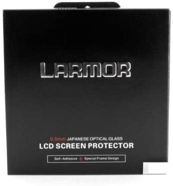 LARMOR GGS SelfAdhesive Optical Glass LCD Screen Protector for Canon 5DIII 5D3 5D Mark III 5Ds 5DSR