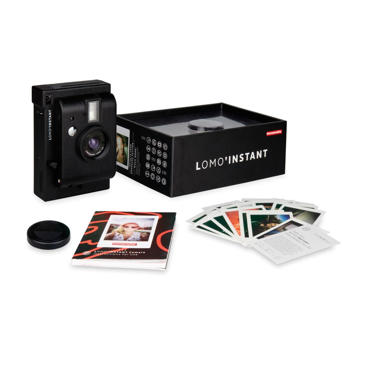 Lomography Lomo Instant Camera  Black