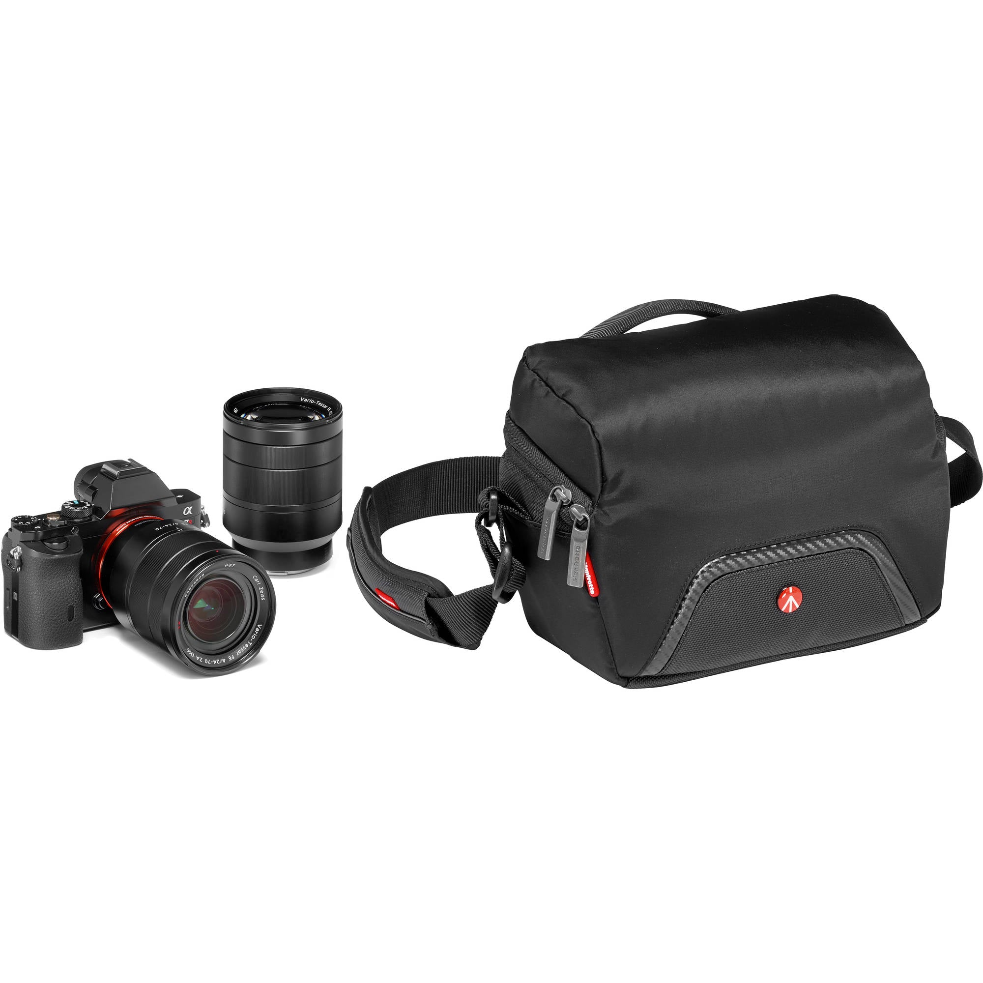 Manfrotto Advanced Camera Shoulder Bag Compact 1 for CSC (Black)