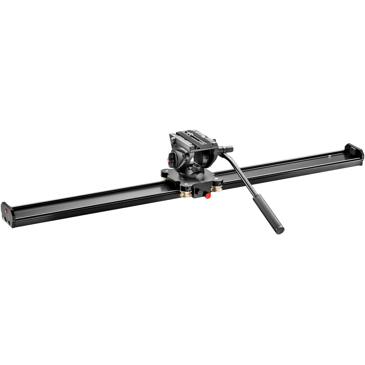 "Manfrotto Aluminum Camera Slider with 500 Video Head (39"")"