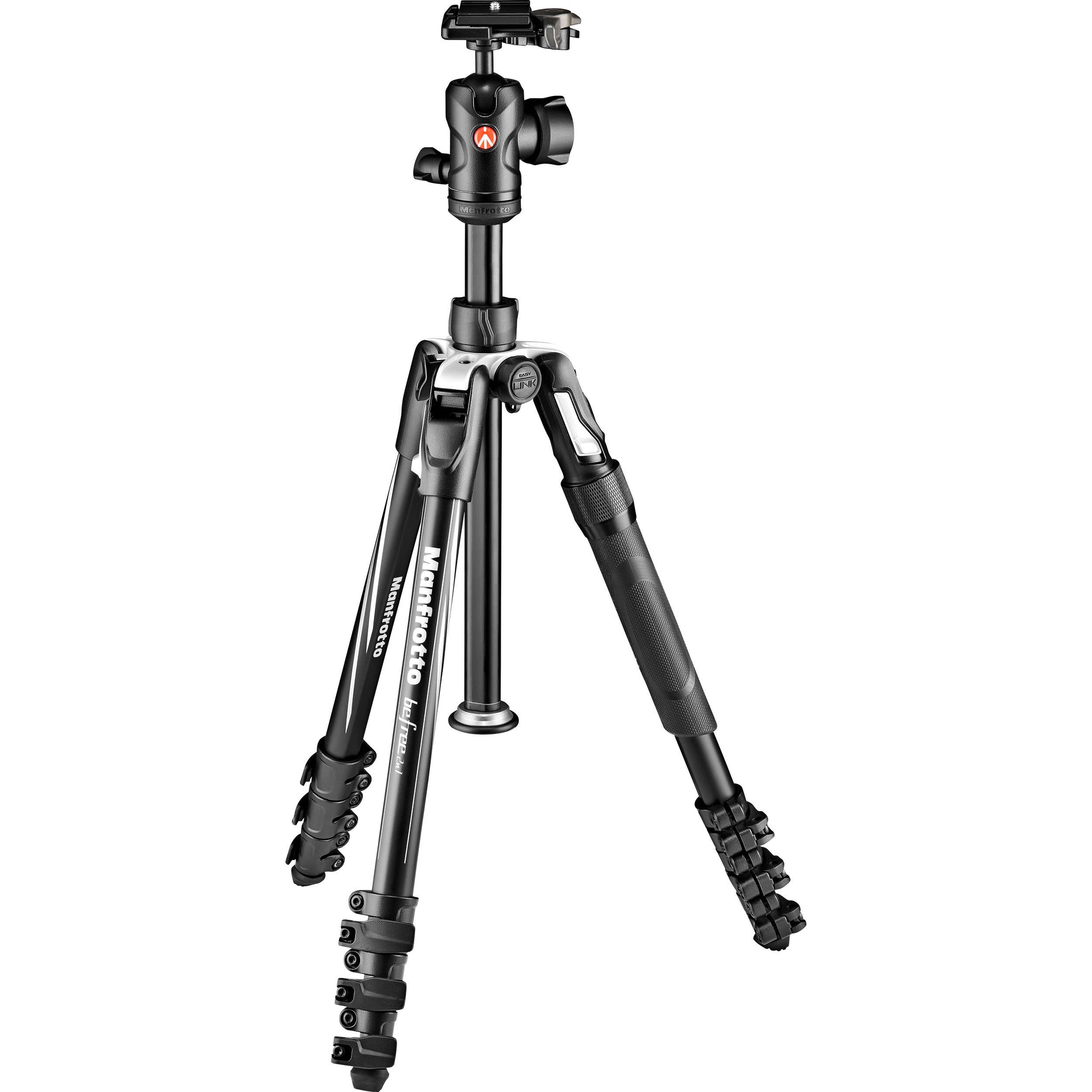 Manfrotto Befree 2N1 Aluminum Tripod with 494 Ball Head (Lever Lock)