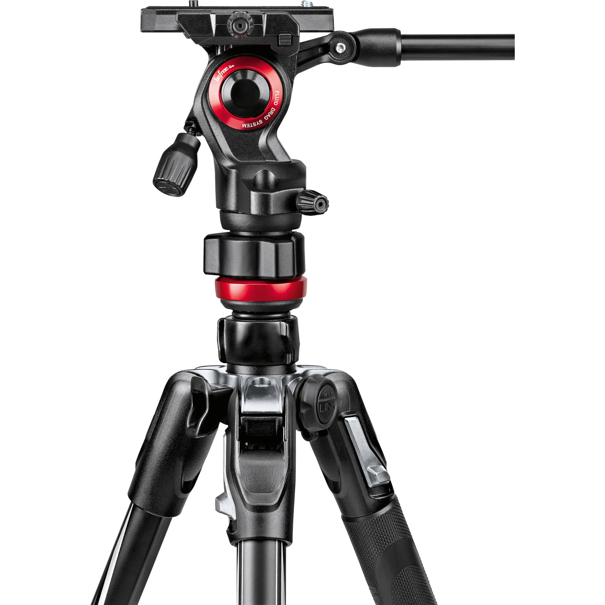 Manfrotto Befree Live Aluminum Video Tripod Kit with Twist Leg Locks