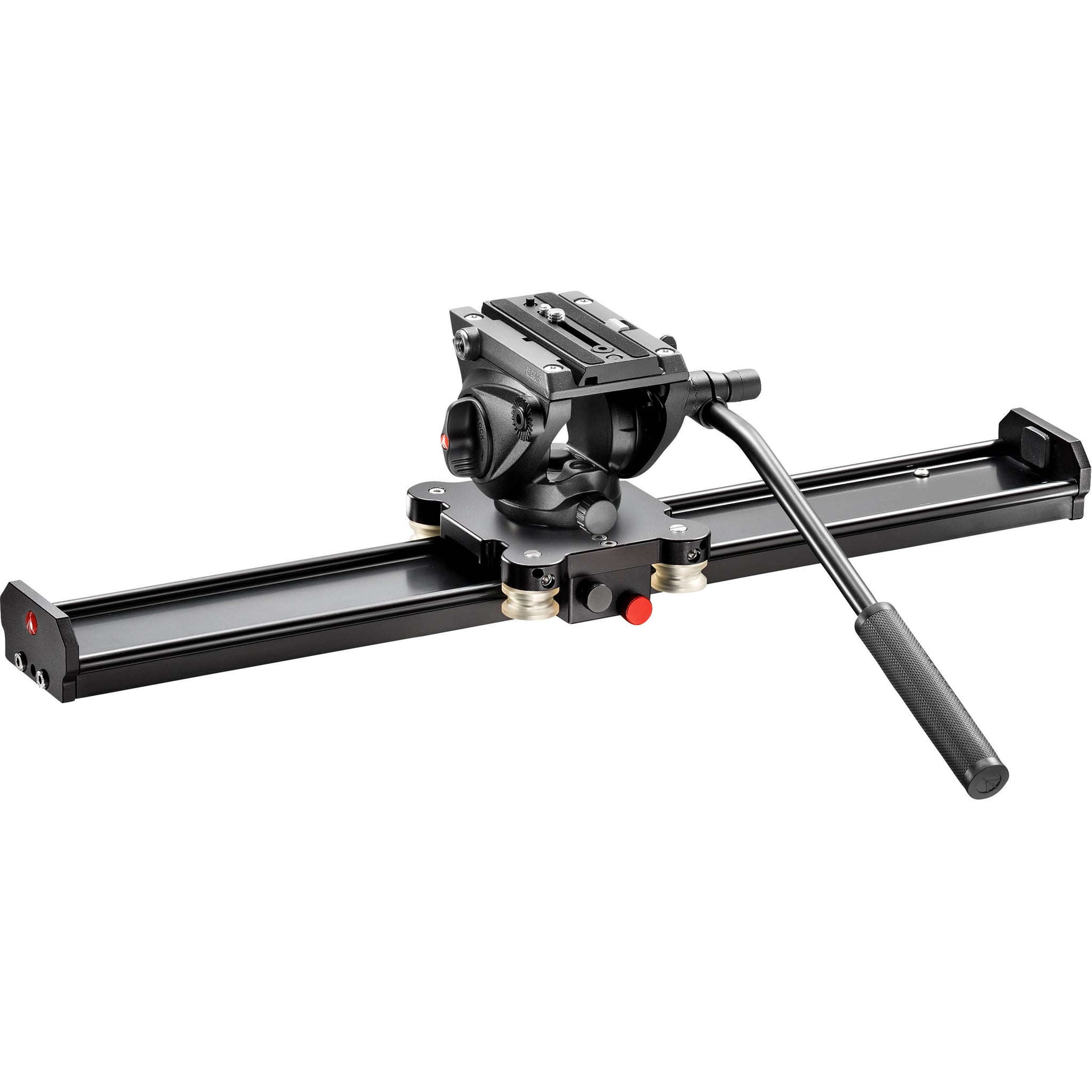 "Manfrotto Camera Slider 60cm with MVH500AH Fluid Head (23.6"")"
