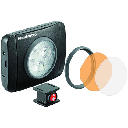Manfrotto Lumimuse 3 On-Camera LED Light (Black)