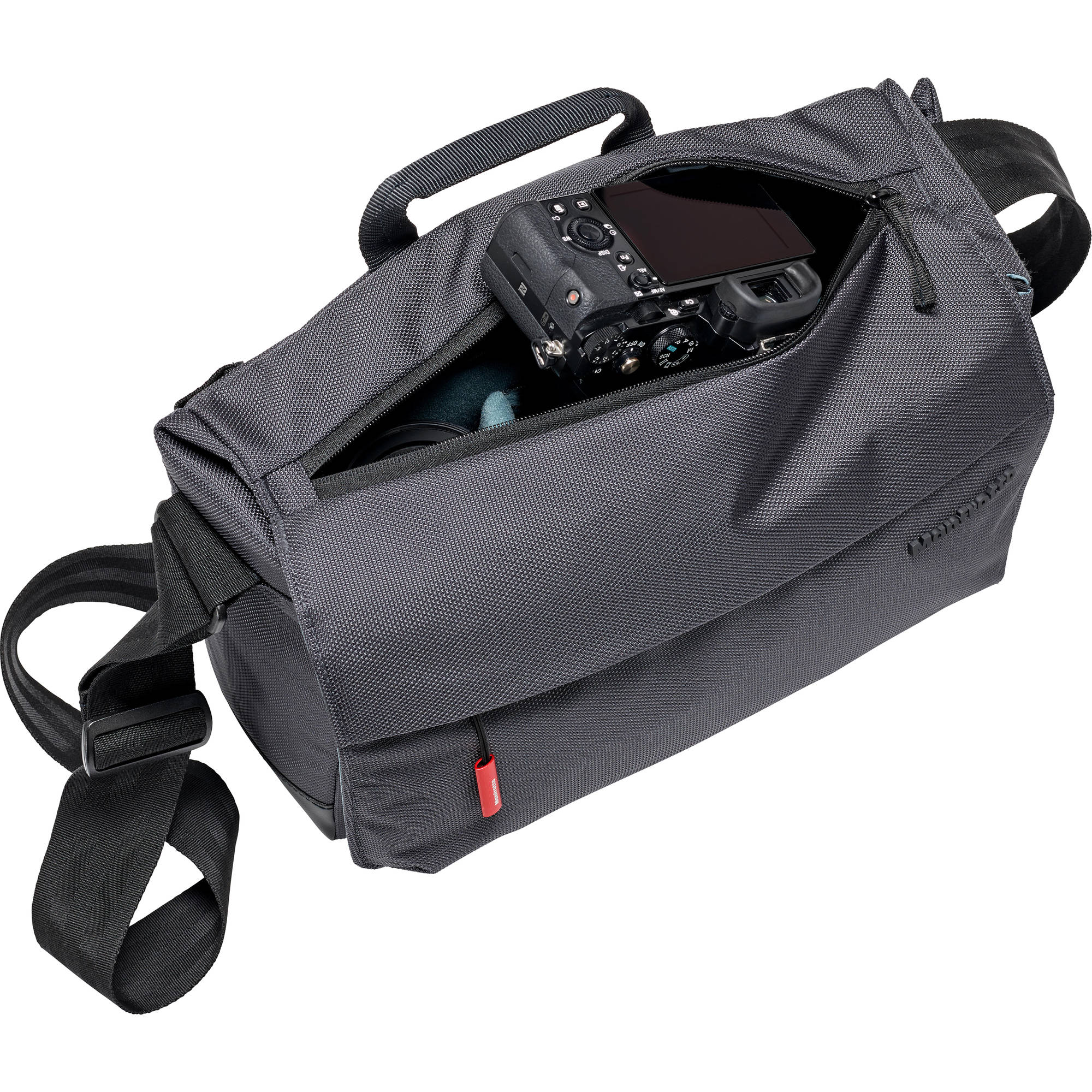 Manfrotto Manhattan Speedy-10 Camera Messenger Bag (Gray)